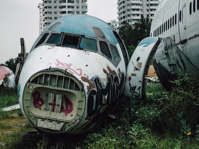 A Journey In Bangkok's Airplane Graveyard